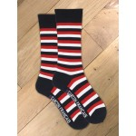 Chaussettes rayures tricolores
